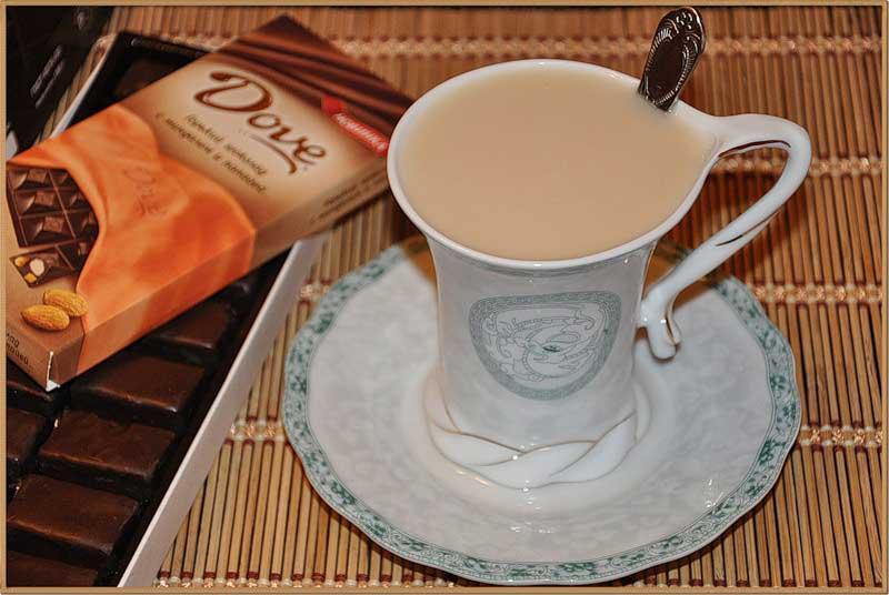 можно ли чай молоком при похудении