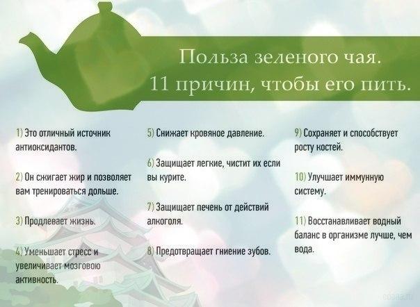 11 причин пить зеленый чай